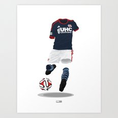 New England Revolution 2014-15 Art Print