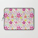 Inky Floral Laptop Sleeve