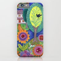 iPhone & iPod Case featuring Summer Calling by Janet Broxon