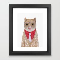 Spotted Quoll Framed Art Print