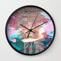 Lunar Arboretum Wall Clock