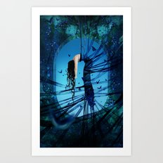 Renascer Art Print