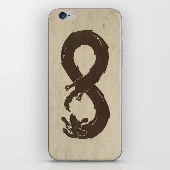The Infinite Chase iPhone & iPod Skin