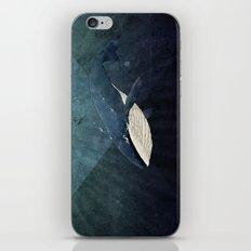 Everett's Whale iPhone & iPod Skin
