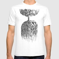 One Tree Planet Mens Fitted Tee SMALL White
