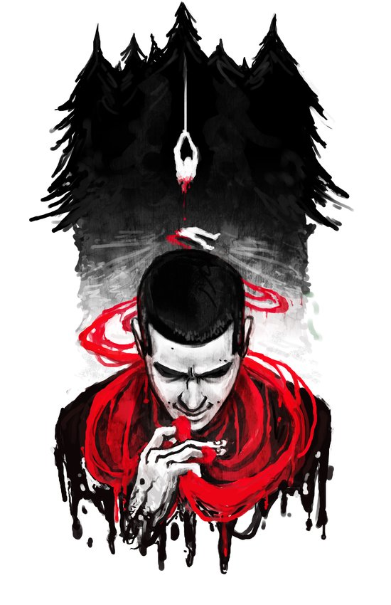 TW: First Blood Art Print