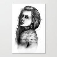 Periphery // Illustratio… Canvas Print