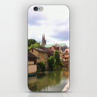 Chartres Canal, France iPhone & iPod Skin