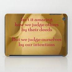 judgment iPad Case