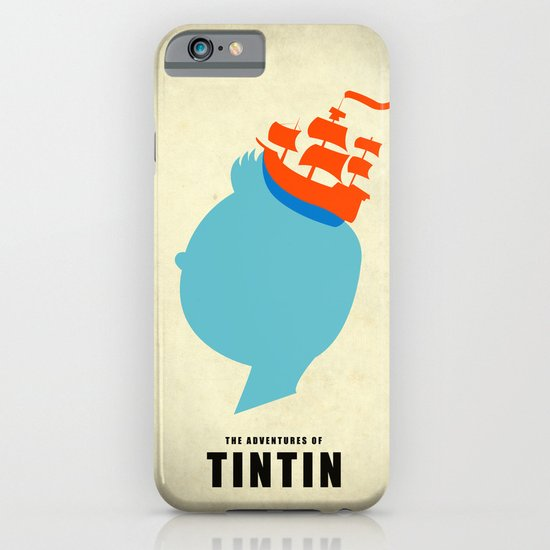 THE ADVENTURES OF TINTIN iPhone & iPod Case