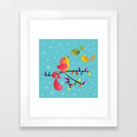 Welcome Home, My Babies! Framed Art Print