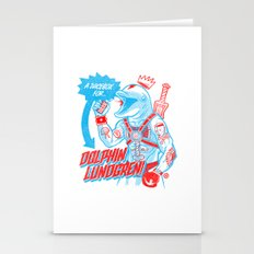 A Juicebox for Dolphin Lundgren Stationery Cards