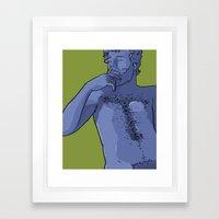 Carl Framed Art Print