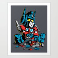 AUTOBLOCKS Art Print