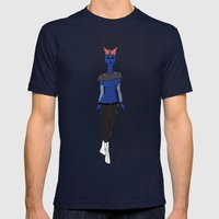 Galactic Street Queen; M… Mens Fitted Tee Navy SMALL