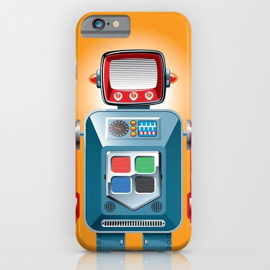 Tin Man No. 4 iPhone & iPod Case