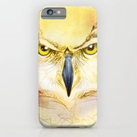iPhone & iPod Case featuring Angry Owl by Michael Scott Murphy