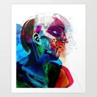 Anatomy Gautier v2  Art Print
