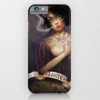 not so white, snow white iPhone 6 Slim Case