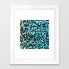 Broken Shards Framed Art Print
