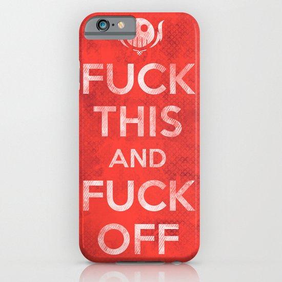 Public Service Announcement iPhone & iPod Case