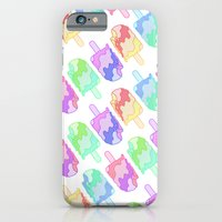 iPhone & iPod Case featuring Ice Cream Melt by Leigh Wortley