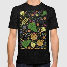 Jungle Cubs Mens Fitted Tee Tri-Black SMALL