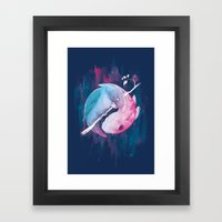 Love and Koi Framed Art Print
