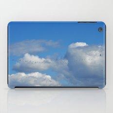 ducks in flight iPad Case