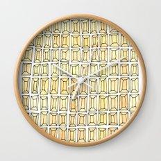 rhinestones 1 Wall Clock