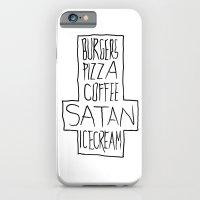 pizza & moar iPhone 6 Slim Case