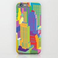 Cityscape Windows iPhone 6 Slim Case