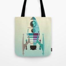 Rocket X Tote Bag