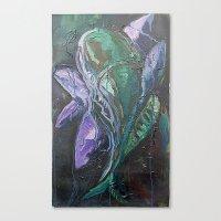 Pintado Flower Canvas Print