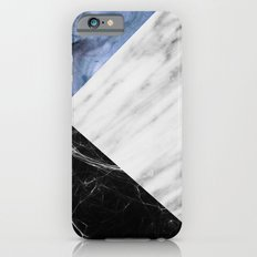 Marble Collage with Blue iPhone 6s Slim Case