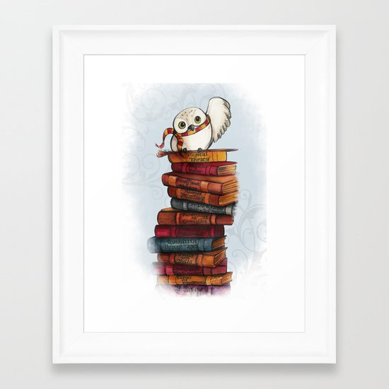 Hedwig Framed Art Print