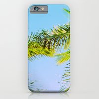 iPhone & iPod Case featuring Palm Trees Tropical Photography by ginaphoto