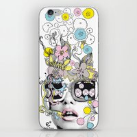 Psykéwoman iPhone & iPod Skin