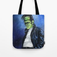 Rebel Frankenstein Tote Bag