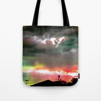 Sky Of Too Many Colors Tote Bag