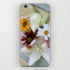 Flowers 'n Chalk iPhone & iPod Skin