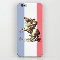 Napoleon Crossing the Alps iPhone & iPod Skin