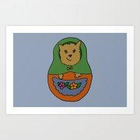 Piptroyshka Art Print