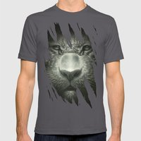 Tiger Mens Fitted Tee Asphalt SMALL