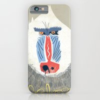 iPhone & iPod Case featuring Baboon by Dushan Milic