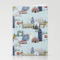 London Landmarks Stationery Cards