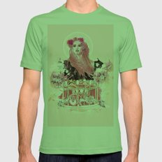 Spring Mens Fitted Tee Grass SMALL