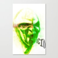 Acid Face Canvas Print