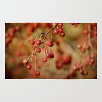 Cranberries Rug