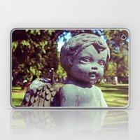 Graveyard Cherub Laptop & iPad Skin